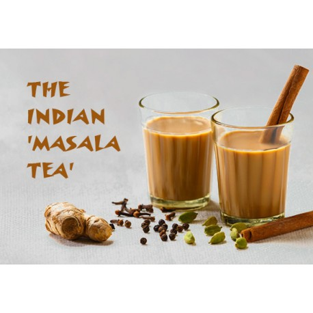 MILK TEA WITH MASALA